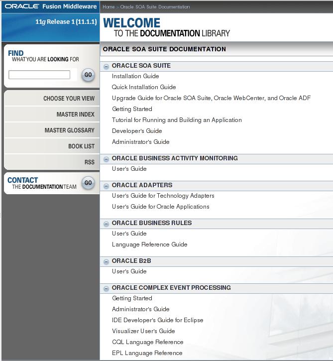 Oracle Database Online Documentation 11g Release 2